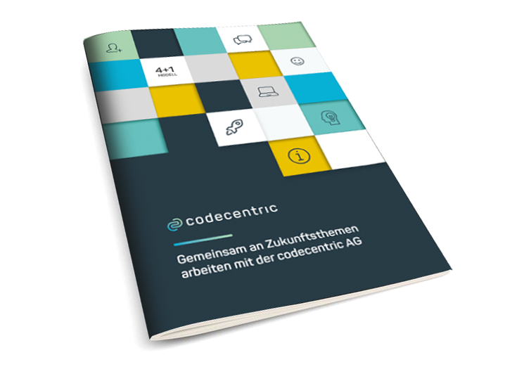 codecentric AG Infobroschüre